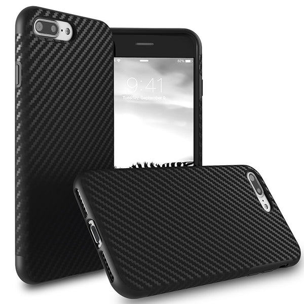 Original Carbon Slim Shockproof iPhone 7/7+ Case