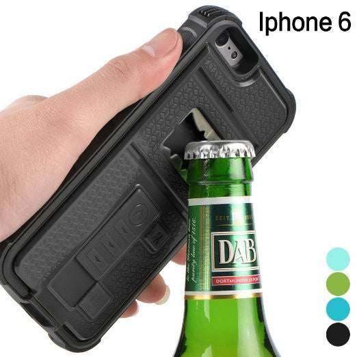 iPhone Lighter + Beer Shockproof Case