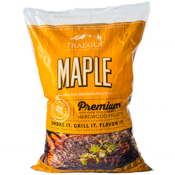 Traeger Maple Hardwood Pellets