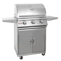 Blaze 25 Inch 3-Burner Grill On Cart