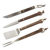 Lamson Tail-Gater Walnut BBQ Set (4pc)
