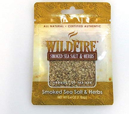 Saltworks Wildfire Extra Bold Smoked Sea Salt Pinch Pouch