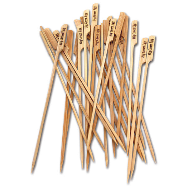 Big Green Egg All Natural Bamboo Skewers (25 Pack)