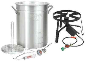 30 Qt. Aluminum Turkey Fryer Kit - Southern Grillin'