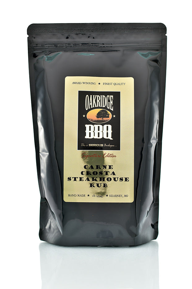 Oakridge BBQ Signature Edition Carne Crosta Steakhouse Rub (1 pound)