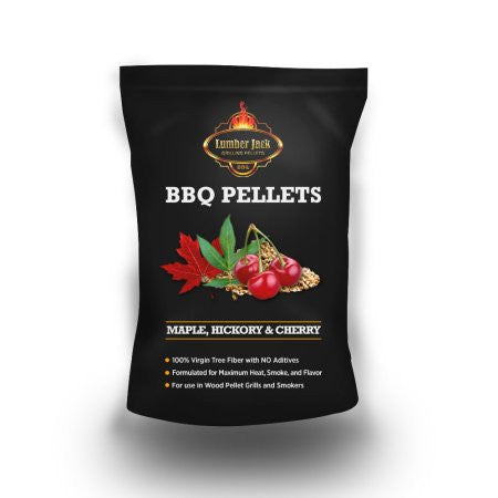 Lumber Jack BBQ Pellets Competition (Maple-Hickory-Cherry)