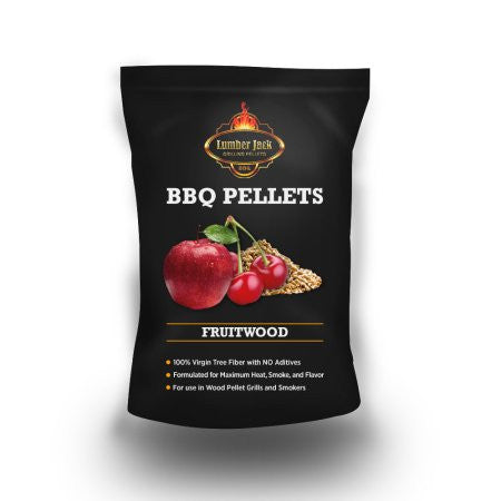 Lumber Jack BBQ Pellets Fruitwood (Cherry-Apple)