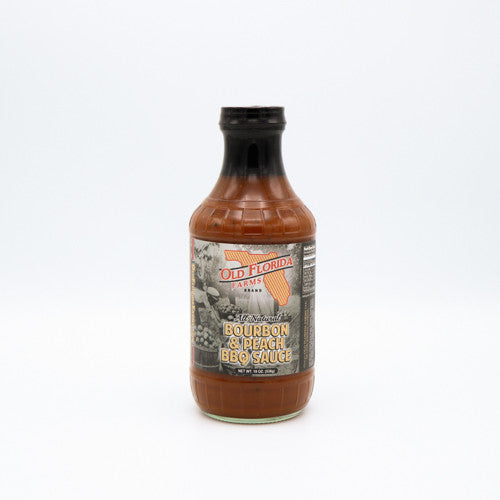 Old Florida Farms Peach Bourbon BBQ Sauce