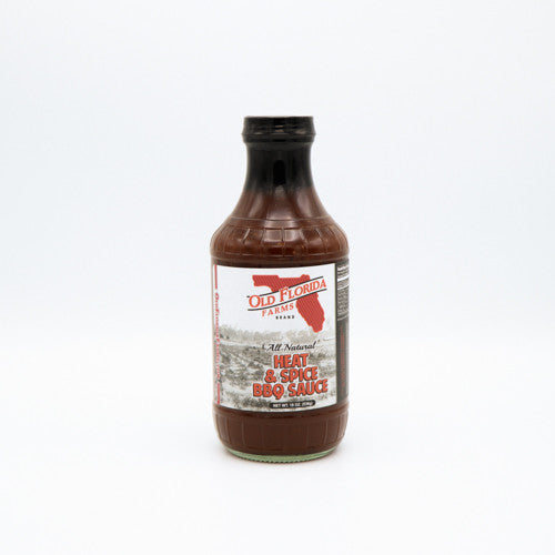 Old Florida Farms Heat and Spice BBQ Sauce