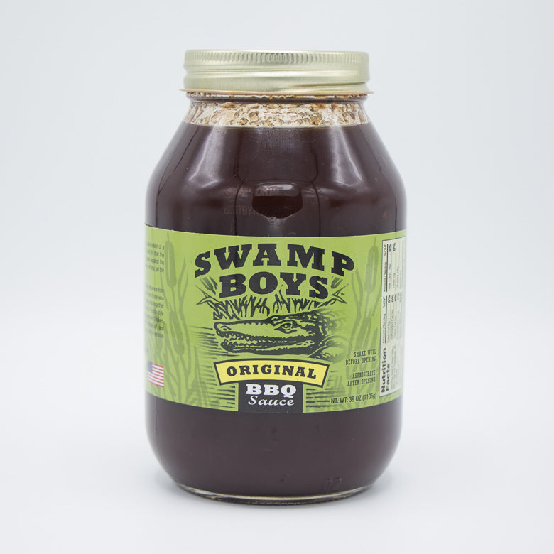 Swamp Boys Original BBQ Sauce (39oz)