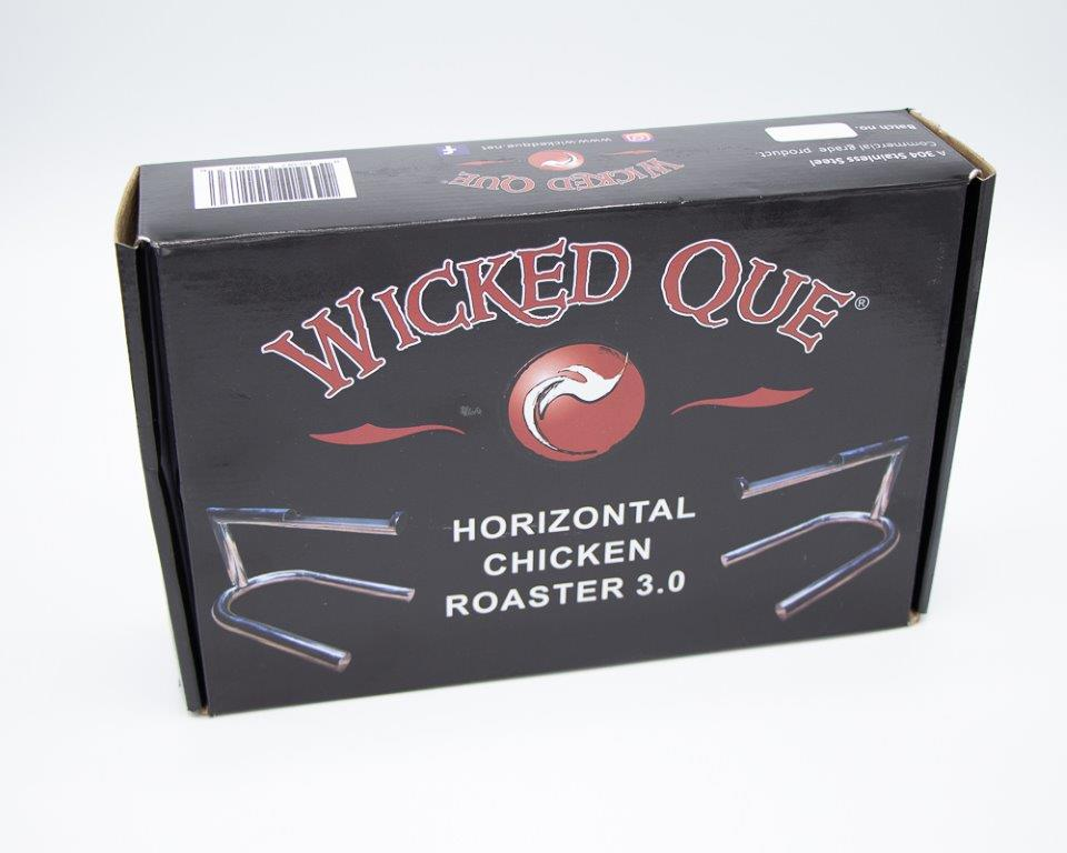 Wicked Que Horizontal Chicken Roaster 3.0