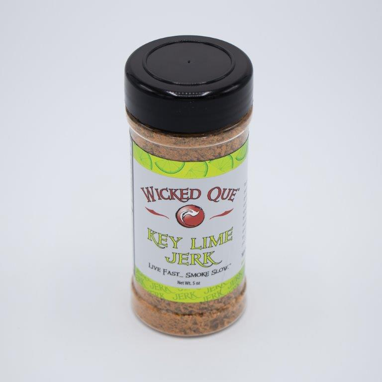 Wicked Que Key Lime Jerk Seasoning