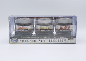 Hellfire Bonfire Wildfire Smoked Sea Salts