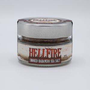Hellfire Smoked Sea Salt