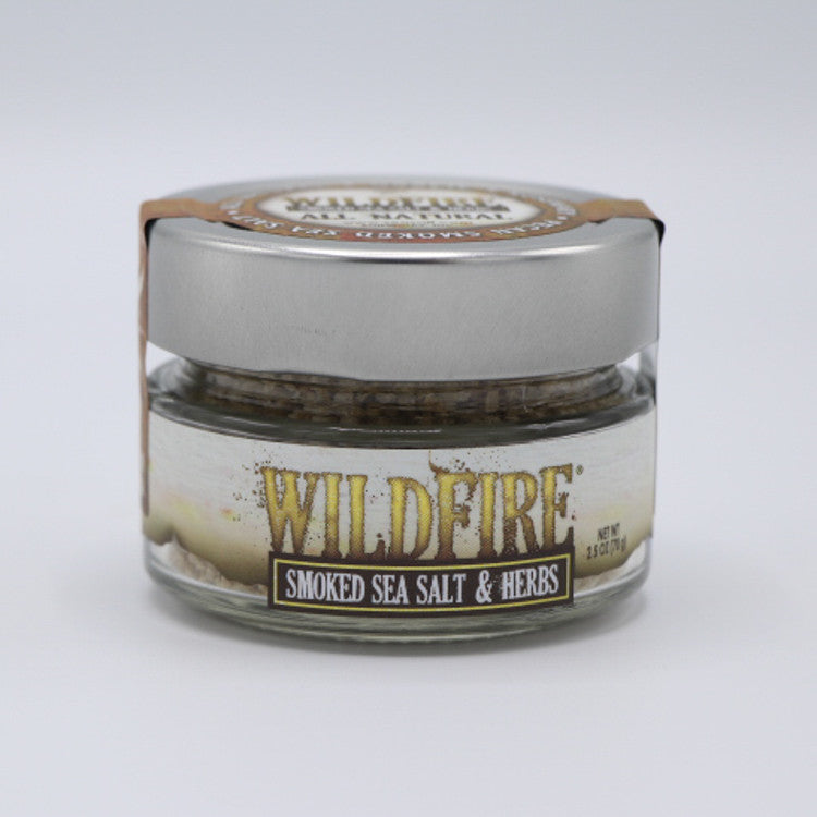 Wildfire Smoked Sea Salt