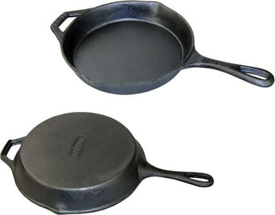 "Cast Iron 10"" Pan - Southern Grillin'"