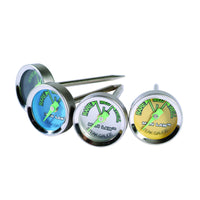 Steak Thermometer with Glow in the Dark Dial (Set of 4) - Southern Grillin'