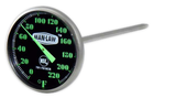 INSTANT READ GAUGE WITH GLOW IN THE DARK DIAL - Southern Grillin'