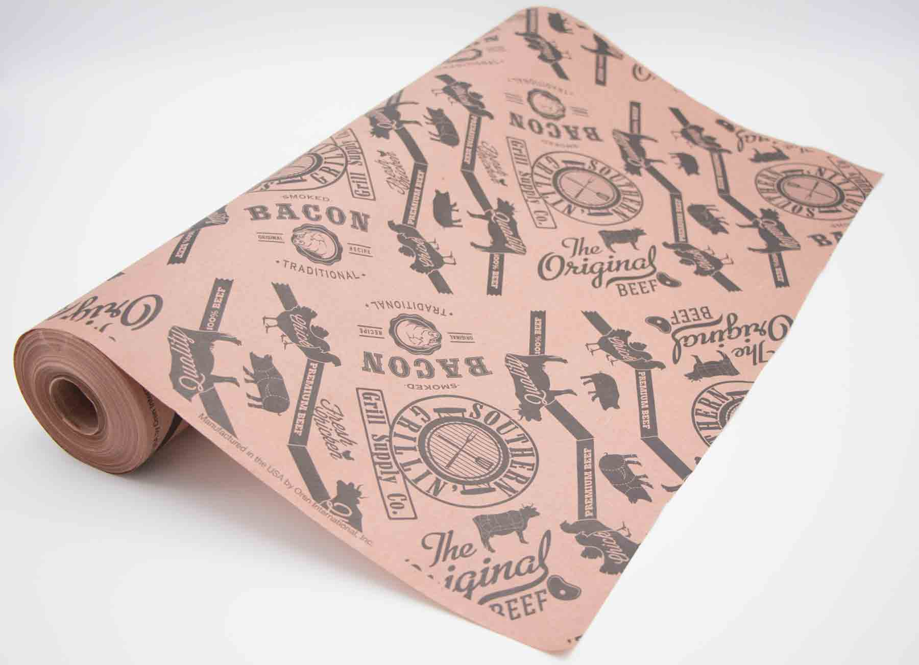 Southern Grillin Pink Oren Butcher Paper  Roll