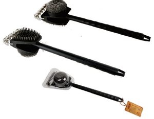 Man Law 3 Function Grill Brush
