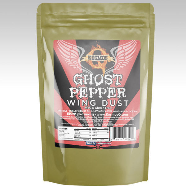 Kosmos Q Ghost Pepper Wing Dust 8oz