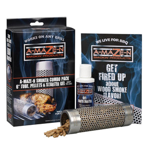 "A-maZe-N 6"" Oval Tube Smoker Combo Pack"