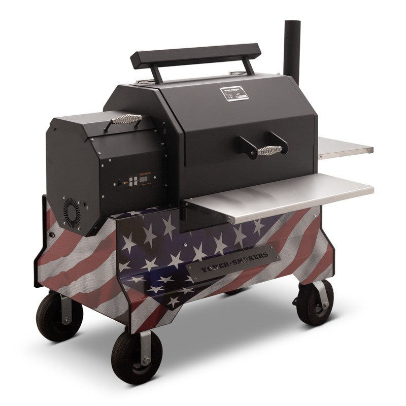 Yoder Smokers YS640 Competition Cart Magnetic Wrap - American Flag