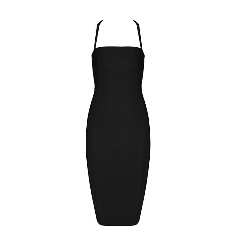 Kamilla Bandage Dress: Black