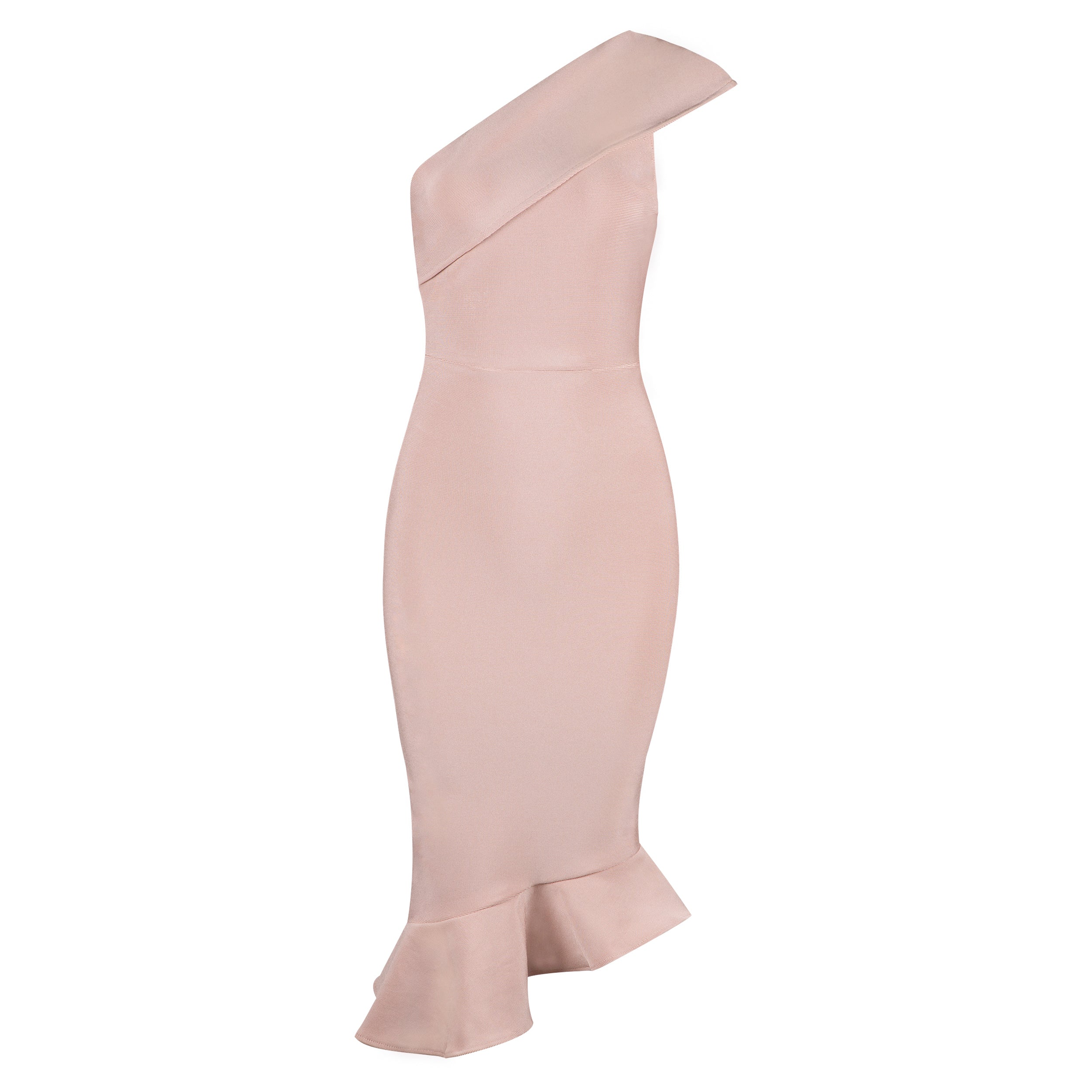 Stella Bandage Dress: Apricot Pink