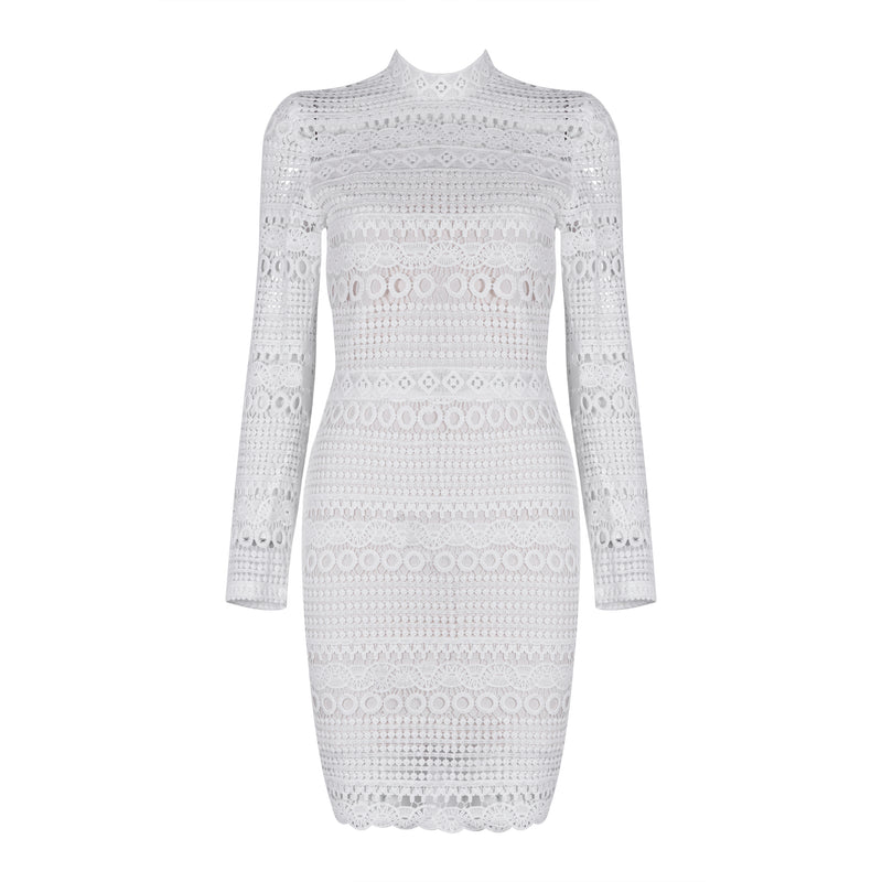 Elisa Bandage Lace Dress