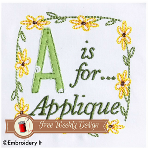 Machine Embroidery Free Designs