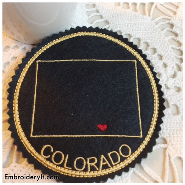 In the hoop Colorado coaster