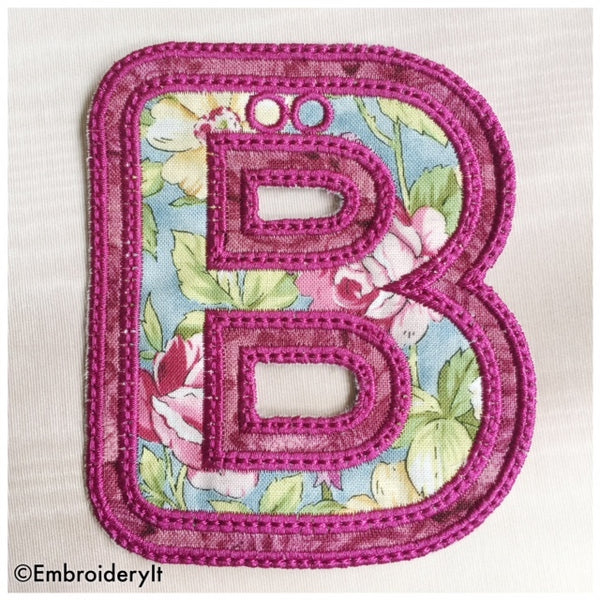 banner alphabet machine embroidery designs