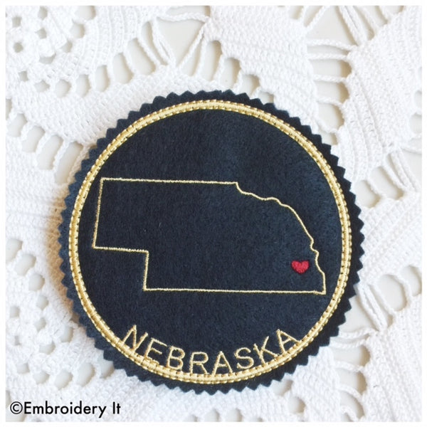 In the hoop Nebraska coaster