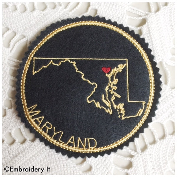In the hoop Maryland coaster