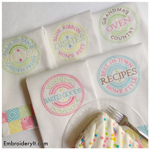 Kitchen Emblems Set of 5