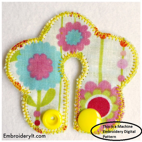 machine embroidery feeding tube design