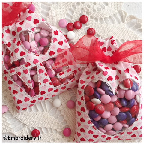 Valentine Treat Bags Set of 2