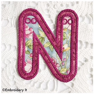 machine embroidery banner decor