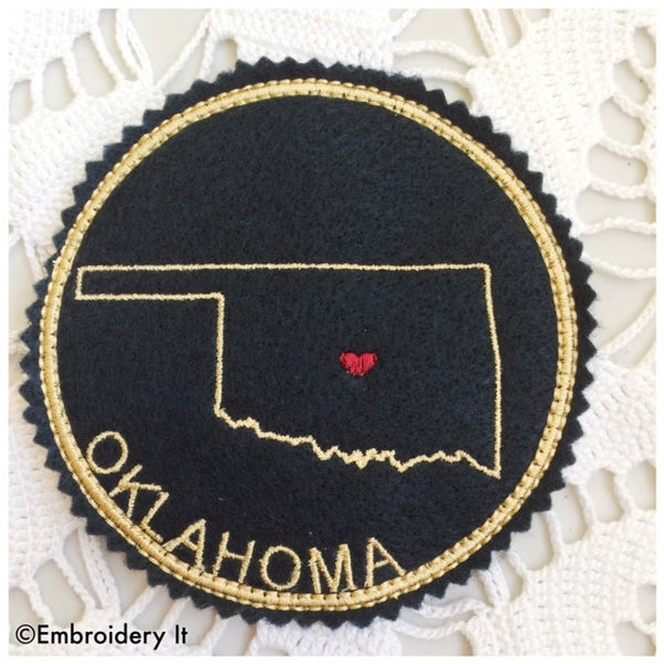in the hoop Oklahoma coaster