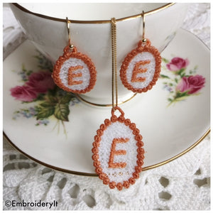 free standing lace jewelry designs