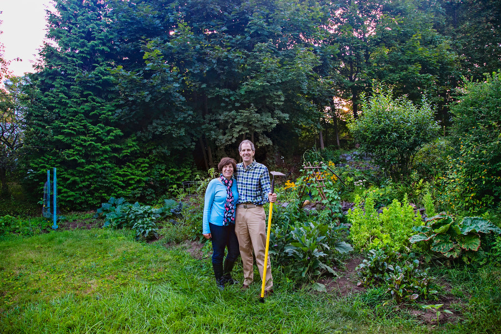 Jodi and Jim at their home in Maine