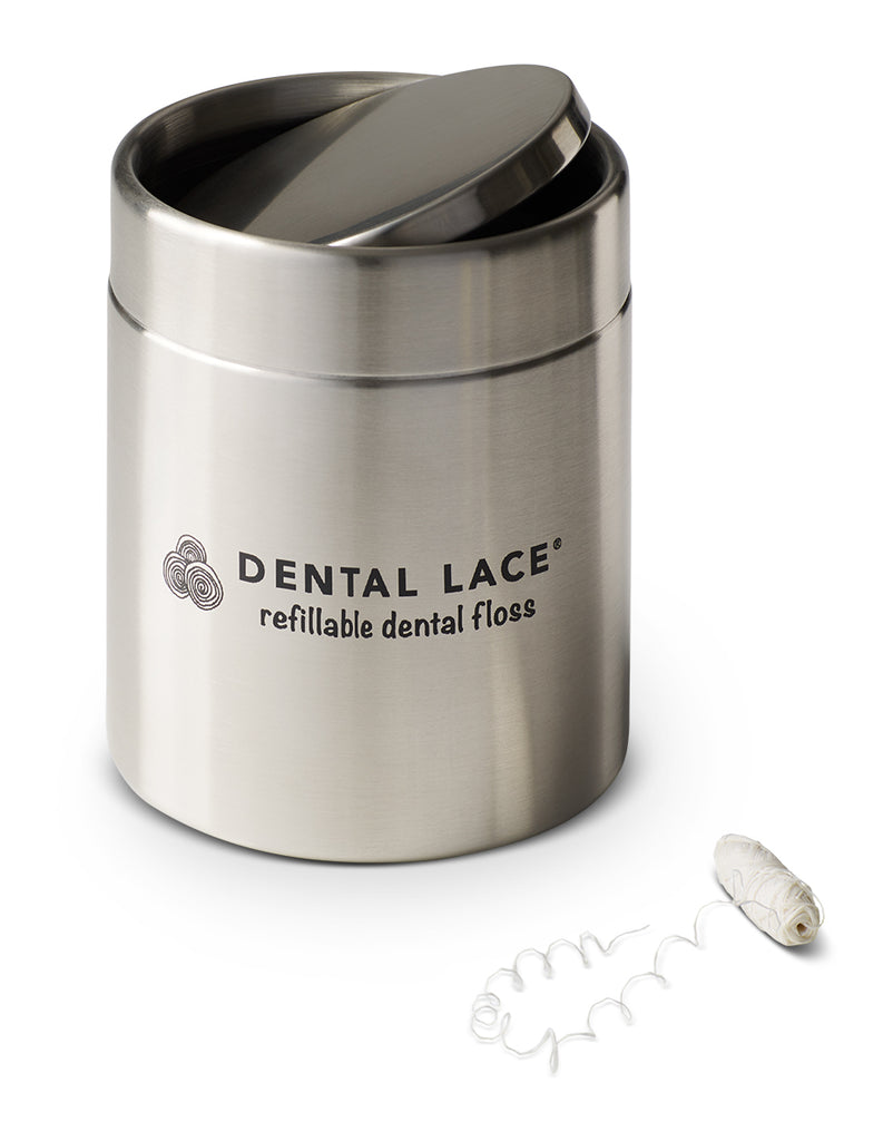 Dental Lace Mini Compost Bin (5 inches high!)