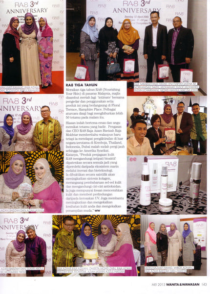 RA8 3rd Anniversary and Launching of New Image and Packaging