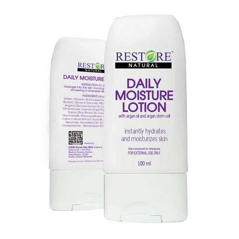 Best Body Lotion - Restore Daily Moisture Lotion