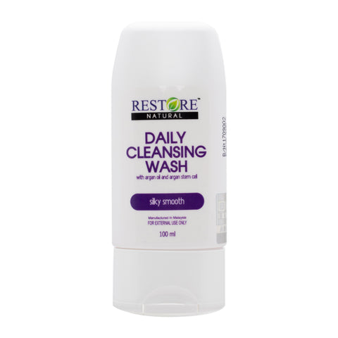 Restore Daily Cleansing Wash 100ml -  Moisturizing Body Wash