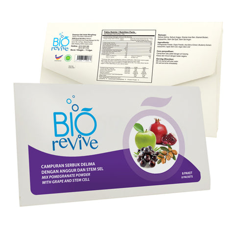 Bio Revive Fruit Drink (8 sachets)