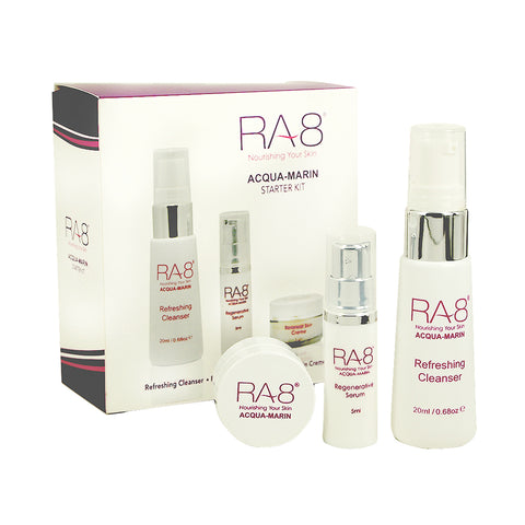 RA8 Essential Facial Skincare Starter Kit - Anti Aging Products