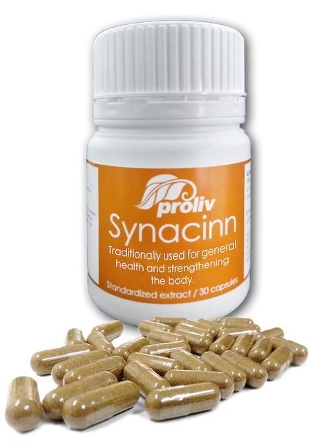 Synacine Capsules for General Health and Maintenance (Extract)