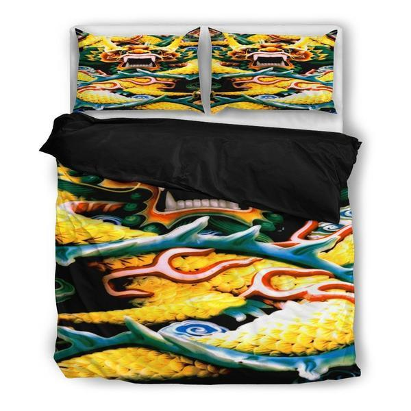 Bedding Sets Moondazzlecasescom - Chinese dragon comforter set